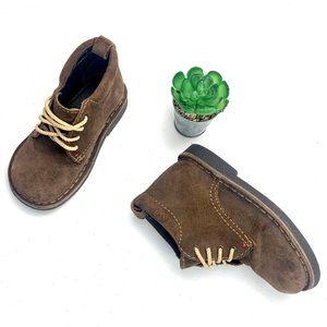 Retro Baby Gap Genuine Suede Leather Chukka Boots